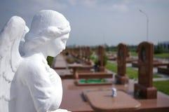 Памятник, террористы которые завладели школу, кладбище, память Стоковое Изображение RF