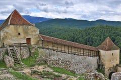 Памятник Трансильвания Румыния крепости Râșnov исторический стоковое изображение rf