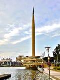 Памятник тысячелетия стоковое изображение rf