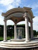 памятник фонтана arkhangelskoye старый Стоковая Фотография RF