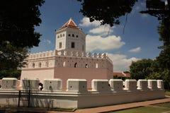Памятник форта в Бангкоке, Таиланде стоковая фотография rf