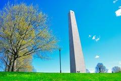 Памятник холма бункера в Бостоне Стоковое Изображение RF