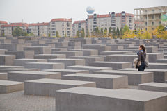 памятник холокоста berlin Стоковые Изображения