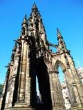 памятник Шотландия соединенный scott королевства edinburgh Стоковое Изображение RF