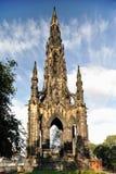 памятник Шотландия scott Великобритания edinburgh Стоковая Фотография RF
