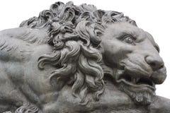 Памятник льва Стоковая Фотография RF