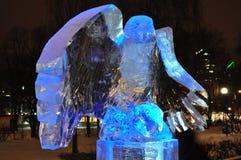 Памятник льда Стоковые Изображения