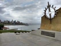 Памятник экспедиции Атлантиды стоковые фото