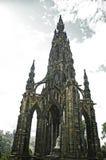 Памятник Эдинбург Скотта Стоковое фото RF