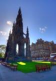 Памятник Эдинбург Скотта Стоковые Фото