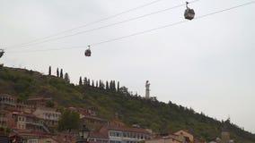 """Памятник """"мать Kartli """"или """"мать Грузия """"в Тбилиси видеоматериал"""
