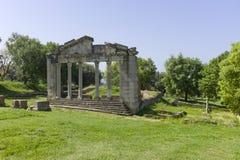 Памятник Agonothetes в Apollonia. Стоковая Фотография RF