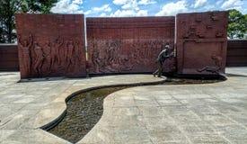Памятник Andersonville Georgia национального музея плена мемориальный Стоковая Фотография RF