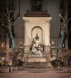 Памятник Antoine Gailleton в Лионе Стоковое Изображение