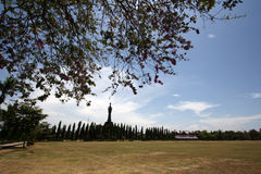 Памятник Bajra Sandhi, Денпасар, Бали, Индонезия Стоковая Фотография