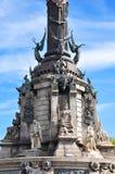 памятник barcelona Христофора columbus стоковая фотография