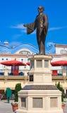 Памятник Basilio Calafat Лошадь Riesenradplatz Austia стоковая фотография rf