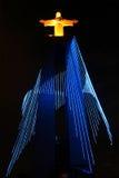памятник christ к Стоковая Фотография RF