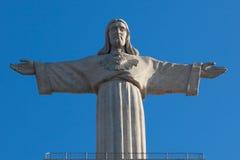памятник christ jesus lisbon Стоковое Изображение RF