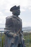 Памятник Christopher Columbus в морском курортном городе Gelendzhik парка сафари музея, зоне Краснодара, России стоковые фото