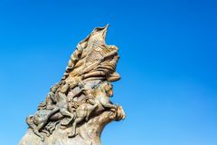 Памятник Cinco de Mayo Стоковые Фотографии RF