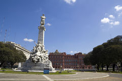 Памятник Columbus. стоковое изображение