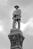 Памятник Confederate Стоковые Фотографии RF