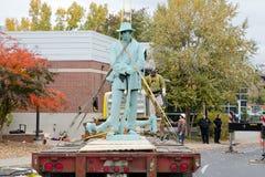 Памятник Confederate Стоковые Изображения