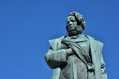 Памятник Daniele Manin в Венеции Стоковые Фото