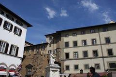 Памятник delle Bande Nere Giovanni в Флоренсе, Италии Стоковое фото RF