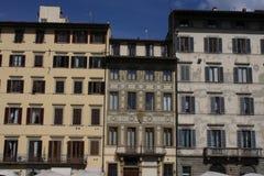 Памятник delle Bande Nere Giovanni в Флоренсе, Италии Стоковая Фотография RF