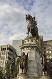 Памятник Equestrian Вашингтона Стоковые Фото
