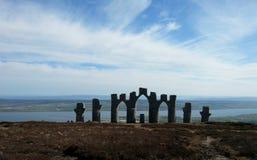 Памятник Fyrish Стоковое Изображение