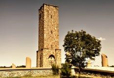 Памятник Gazimestan Стоковое Изображение RF
