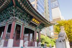 Памятник Gojong Стоковые Изображения RF