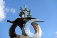 Памятник gozo стоковая фотография rf