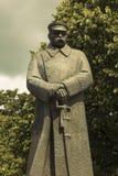 Памятник Jozef Pilsudski Стоковое Изображение RF