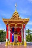 Памятник Kaysone Phomvihane в Luang Prabang Стоковое фото RF