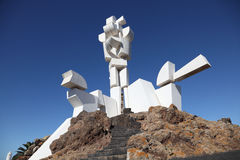 памятник lanzarote campesino al Стоковое Фото