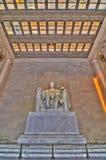 памятник lincoln Стоковая Фотография RF