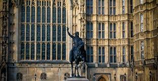 Памятник Lionheart Стоковое Изображение RF