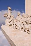 памятник lisbon конкистадоров Стоковое Фото