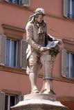 Памятник Luigi Galvani стоковое фото