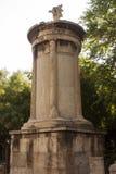 Памятник Lysicrates Стоковое Изображение RF