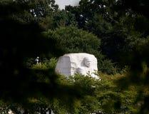 памятник martin luther короля dc Стоковое Изображение RF