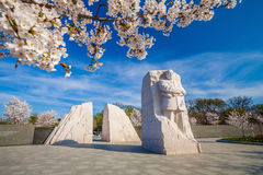 памятник martin luther короля Стоковое фото RF