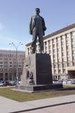 Памятник Mayakovsky в квадрате Москвы триумфальном стоковое изображение