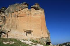 Памятник Midas в Yazilikaya Стоковая Фотография