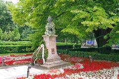 Памятник Mihai Eminescu стоковая фотография rf