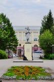07 06 2012: Памятник Mikhail Volkov, стоковое фото rf